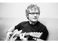 Ed Sheeran Manchester Arena 22nd April *standing*