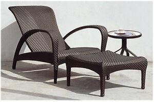Chaise longue avec appui-pieds PRIX LIQUIDATION