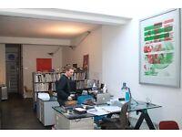 2 desks available now for £230.00 per desk per month