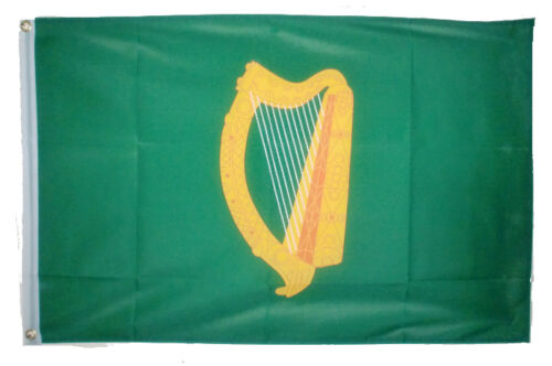 LEINSTER FLAG 5X3 FEET IRISH EIRE IRELAND Mide Osraige Harp flags