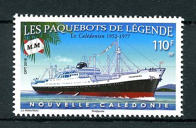 New Caledonia 2016 MNH Legendary Steamships The Caledonian 1v Set Ships Stamps