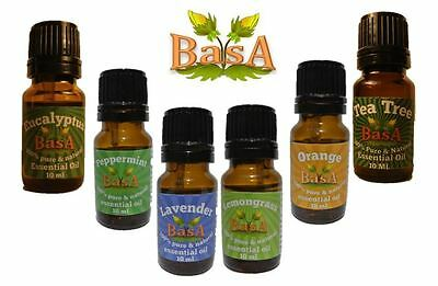 6 - 10 ml 100% Pure & Natural Essential Oil Beginner Set -  Free Shipping