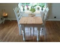 Farmhouse table and chairs Laura Ashley