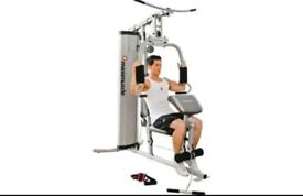 MAXI MUSCLE MULTI GYM IN VERY GOOD CONDITION, FULLY ASSEMBLED.
