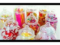 Various sweetie jars