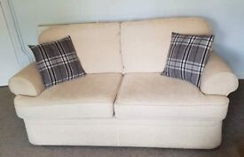 2 & 3 Seater Cream Sofas