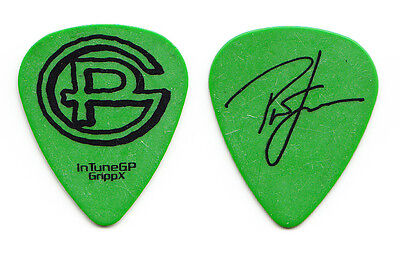 Pat Green Signature Green Tour Guitar Pick
