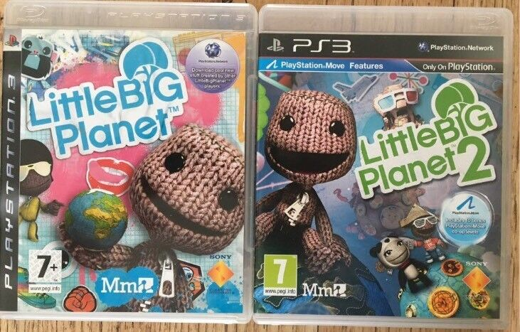 Ps3 Little Big Planet And Lbp 2 Vgc In Plymouth Devon Gumtree