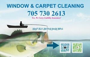 Window & Carpet Cleaning Services / Call Today 705-730-2613