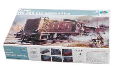 Trumpeter 9360216 Wehrmachtslokomotive WR 360 C 12 1:35 Zug Modellbausatz
