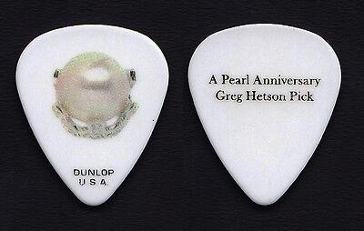 Bad Religion Greg Hetson Pearl Guitar Pick - 2013 Tour