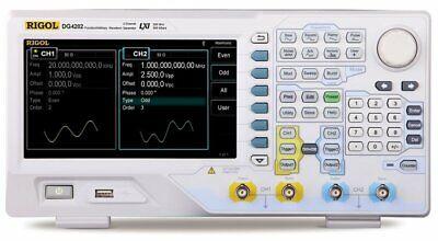 Rigol Dg4202 Function Arbitrary Waveform Generator 200mhz