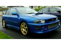 Subaru impreza STI type R version 4 v-ltd