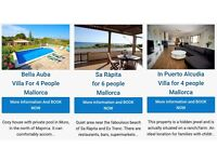 Holiday rentals in Mallorca