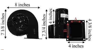 Envirofire Pellet Stove Convection Motor Blower, Fits EF1, EF2, EF3 EF-002