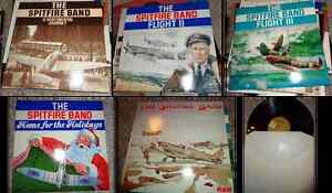 Vintage Spitfire Band Vinyl Records