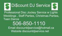 Discount DJ Service Christmas Parties DJ