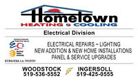 Now Offering Electrical Services              ECRA/ESA 7010701