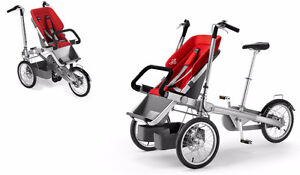 Stroller bike-Taga bike style goes from bike to stroller.