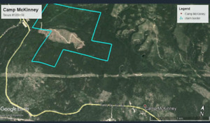 521 acre gold claim at historic Camp Mckinney, British Columbia