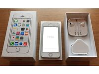 iPhone 5S 16GB 4G silver/white unlocked smartphone for sale