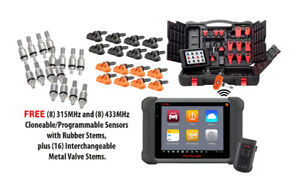 Autel Maxisys 906TS with 16 TPMS sensors and 16 stems free $2295