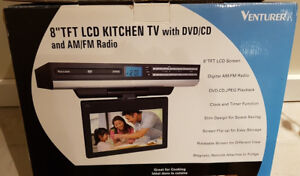 LCD TV/DVD Combo for Kitchen