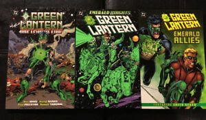 Green Lantern Kyle Rayner OOP Trade Paperback Lot
