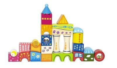 zbausteine 26tlg aus Holz für Kinder / Bausteine (Holz Bausteine Für Kinder)