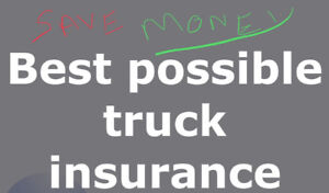 Low price truck insurance