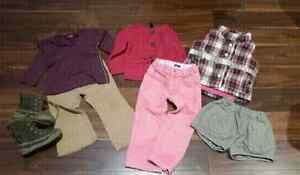 7 pc Girl's Size 3 Lot