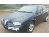 Alfa Romeo 156 2.0 Ts Lusso 4Dr. GUARANTEED FINANCE AVAILABLE ON NEWER CARS