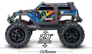 Traxxas Summit 1/16 4WD extreme terrain monster truck