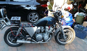 1981 CB750 C for sale or trade $800.
