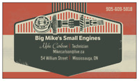 Big Mike's Small Engines