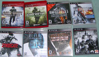 PS3 GAMES JEUX Playstation BEAUCOUP