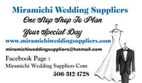 Miramichi Wedding Suppliers Wedding DJ Cakes Halls