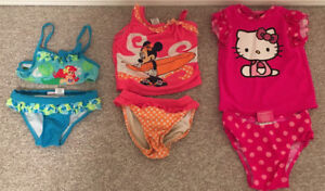 Toddlers Bathing Suits sz 4