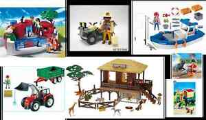 Playmobil assorted collections sold together