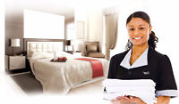 Housekeepers/Room Attendants Wanted