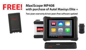 Autel Maxisys Elite+ Free MP408 Scope+ 2 Years free Update $3895