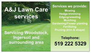 LAWN CARE SERVICES FOR 2019