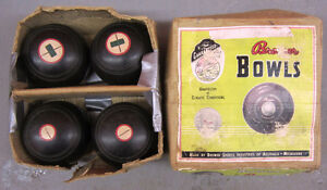 Lawn Bowls in Original Box