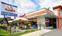 Restaurant For Sale . Brossard or LaSalle . Arahova Souvlaki