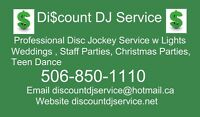 Discount DJ Service Book Your Christmas Party with us