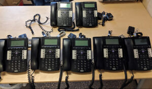 BUSINESS TELEPHONE SYSTEM 7 PHONES - $600.00