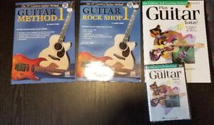 Guitar books, cd