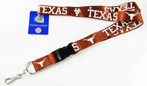 Like New Texas Longhorns Burnt Orange Lanyard
