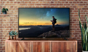 "BRAND NEW SAMSUNG 55""/65""4K,UHD,HDR,PURCOLOR, 120MR,SMART LED TV"