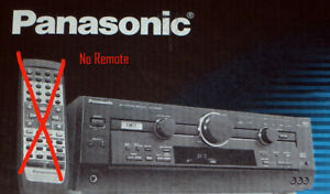 Panasonic  Home Theater Receiver ( No Remote)